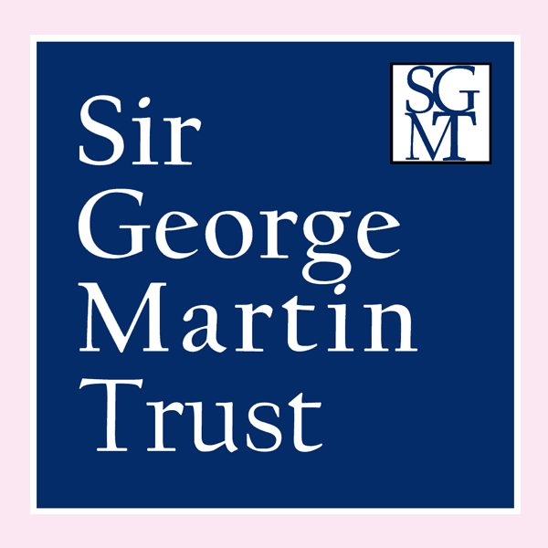 Logo for Sir George Martin Trust